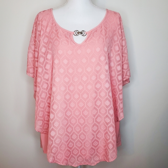 **3/$15** NY Collection 3x blouse